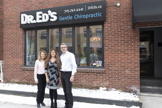 Chiropractor Peterborough ON Ed Jindrich and Team